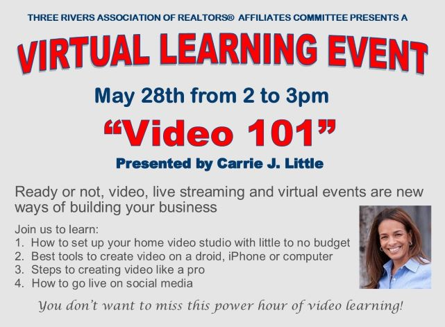 May 2020 Virtual Learning Event 2 graphic