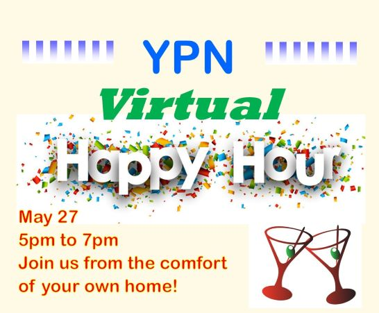 YPN May Virtual Happy Hour graphic 2